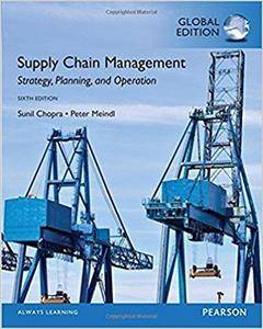 Supply Chain Management, Global Edition