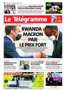 Le Télégramme Brest Abers Iroise – 26 mai 2021