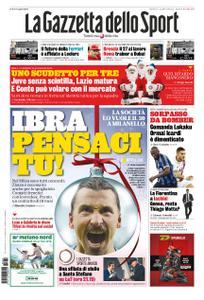 La Gazzetta dello Sport Bergamo – 24 dicembre 2019