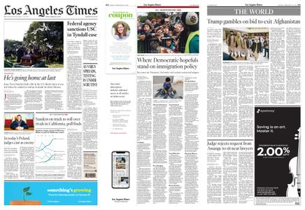 Los Angeles Times – February 28, 2020