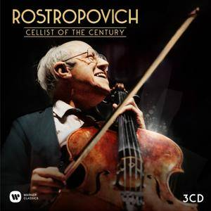 Mstislav Rostropovich: Cellist Of The Century (3CDs, 2017)