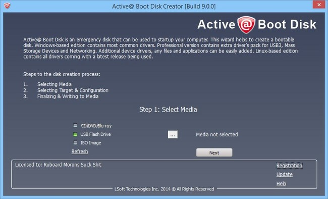 Active Boot Disk 12.0.3 Win10 PE x64