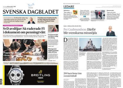 Svenska Dagbladet – 19 december 2018