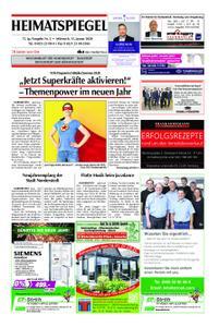Heimatspiegel - 15. Januar 2020