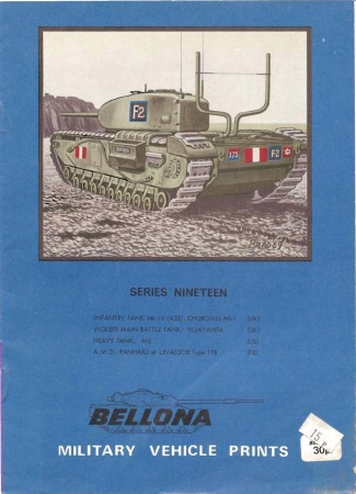 Bellona Military Vehicle Prints: series nineteen