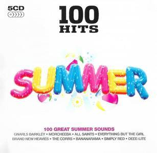 VA - 100 Hits Summer (5CD, 2015)