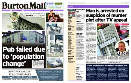Burton Mail – August 18, 2018
