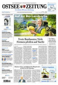 Ostsee Zeitung Wolgast - 21. September 2018