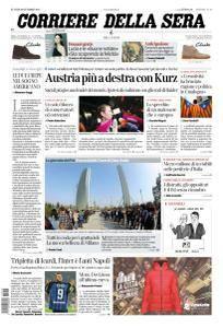 Corriere della Sera - 16 Ottobre 2017