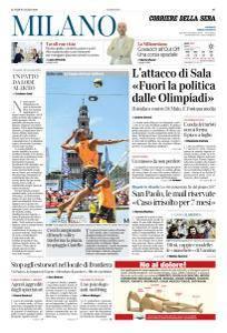 Corriere della Sera Milano - 9 Luglio 2018