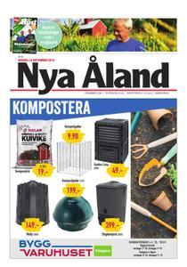 Nya Åland – 18 september 2019