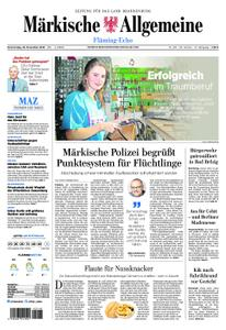 Märkische Allgemeine Fläming Echo - 29. November 2018