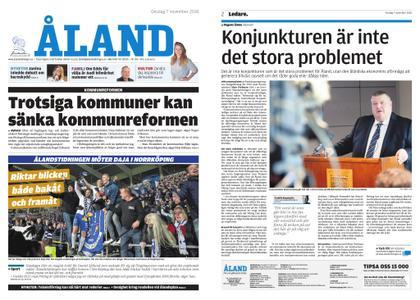 Ålandstidningen – 07 november 2018