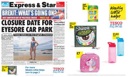 Express and Star Sandwell Edition – August 29, 2019