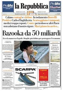la Repubblica - 26 Marzo 2020