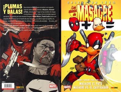100% Marvel. Las Minis de Masacre núm. 10: Masacre el Pato / Masacre Vs. El Castigador