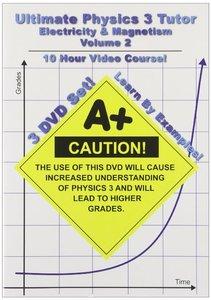 Math Tutor DVD - Ultimate Physics 3 Tutor: Electricity & Magnetism - Volume 2