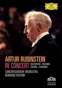 Artur Rubinstein in Concert: Beethoven, Brahms, Chopin, Schubert (2008/1973)