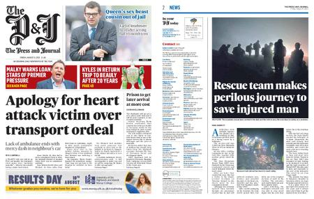 The Press and Journal Moray – August 06, 2021
