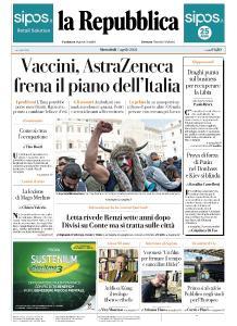 la Repubblica - 7 Aprile 2021