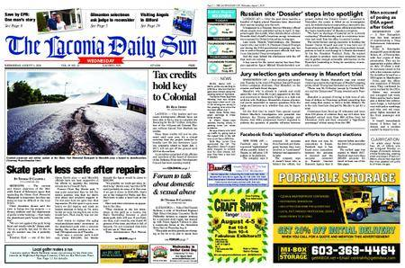 The Laconia Daily Sun – August 01, 2018