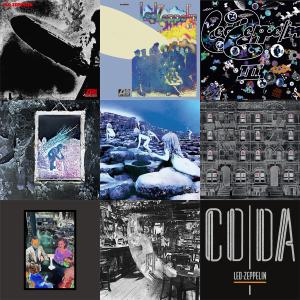Led Zeppelin - HD Studio Album Collection 1969-1982 (9x Deluxe Edition '2014/15) [Official Digital Download] Combined RE-UP