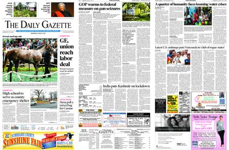 The Daily Gazette – August 07, 2019