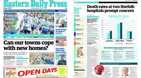 Eastern Daily Press – September 25, 2017