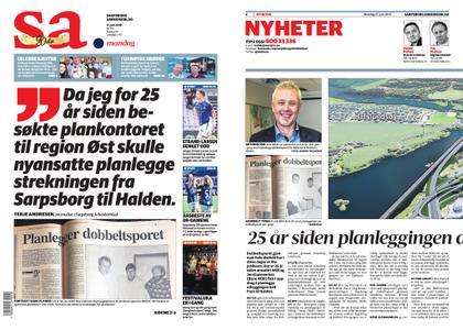 Sarpsborg Arbeiderblad – 17. juni 2019