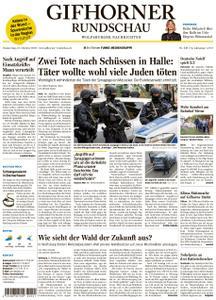 Gifhorner Rundschau - Wolfsburger Nachrichten - 10. Oktober 2019