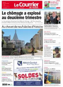 Le Courrier de l'Ouest Cholet – 28 juillet 2020