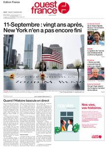 Ouest-France Édition France – 11 septembre 2021