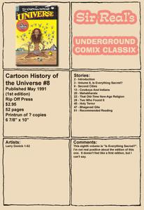 Cartoon History of the Universe 08 (1st Edition) (1991) (Rip Off Press) (Sir Real