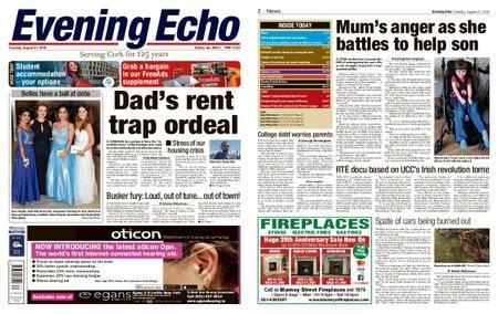 Evening Echo – August 21, 2018