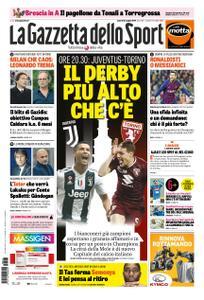 La Gazzetta dello Sport Roma – 03 maggio 2019