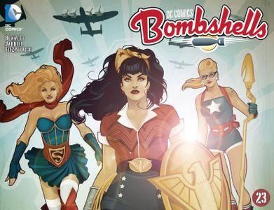 DC Comics - Bombshells 023 2015 Digital