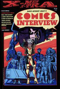David Anthony Krafts Comics Interview Super Special - X-Men X-tra 1993