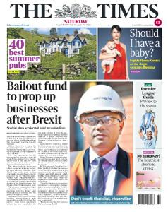 The Times - 10 August 2019