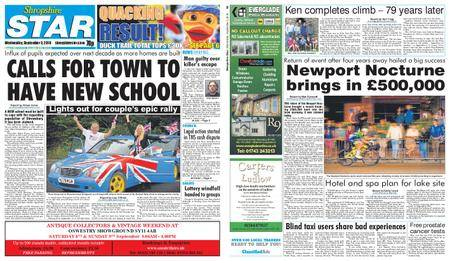 Shropshire Star Shrewsbury Edition – September 05, 2018