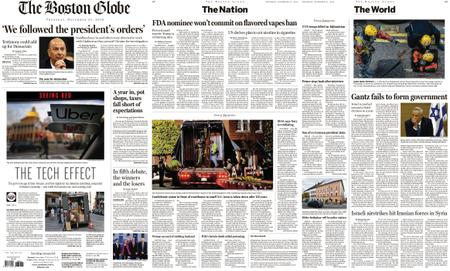 The Boston Globe – November 21, 2019