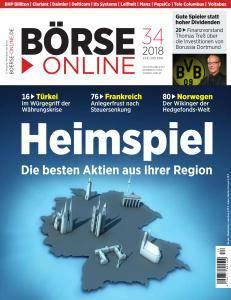 Börse Online - 23 August 2018