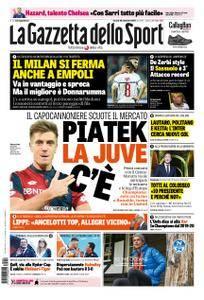 La Gazzetta dello Sport Roma – 28 settembre 2018