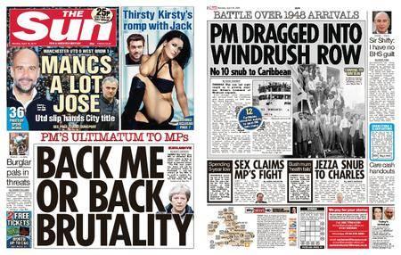 The Sun UK – 16 April 2018