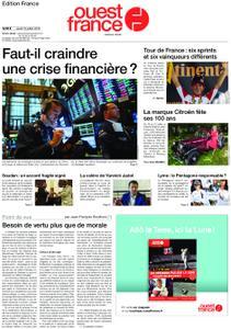 Ouest-France Édition France – 18 juillet 2019