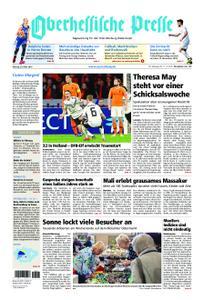 Oberhessische Presse Marburg/Ostkreis - 25. März 2019