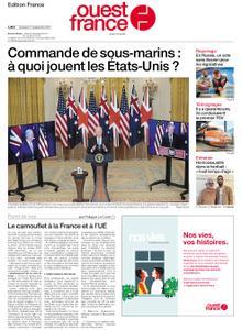 Ouest-France Édition France – 17 septembre 2021