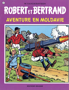 Robert et Bertrand - Tome 10 - Aventure en Moldavie