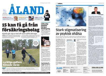 Ålandstidningen – 18 april 2018