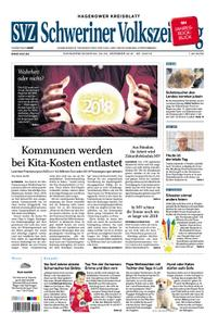 Schweriner Volkszeitung Hagenower Kreisblatt - 29. Dezember 2018