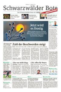 Schwarzwälder Bote Sulz - 21. Januar 2019